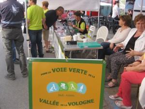 A la Foire de Printemps de Bruyères (8 mai 2016)
